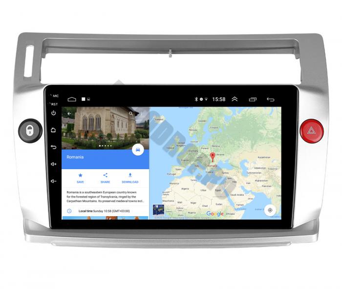 Navigatie Android Citroen C4 2+32GB | AutoDrop.ro 9
