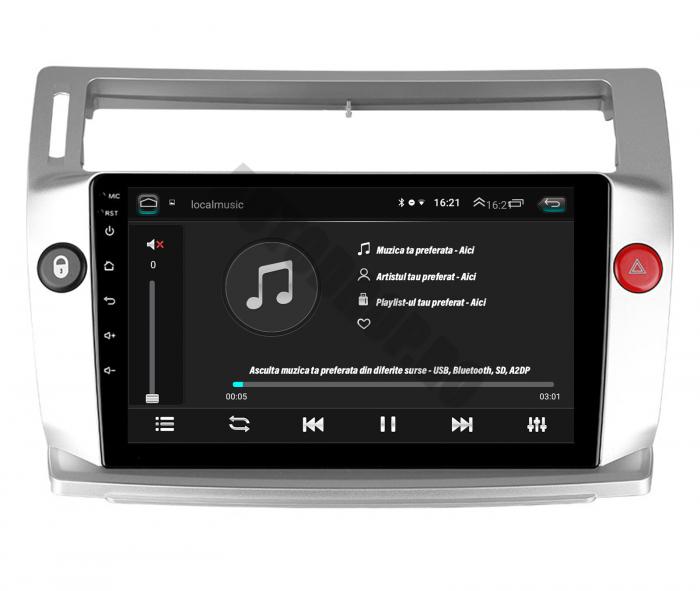 Navigatie Android Citroen C4 2+32GB | AutoDrop.ro 6