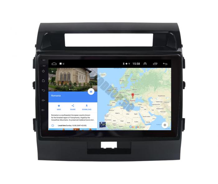 Navigatie Toyota Land Cruiser 200 2GB | AutoDrop.ro 11