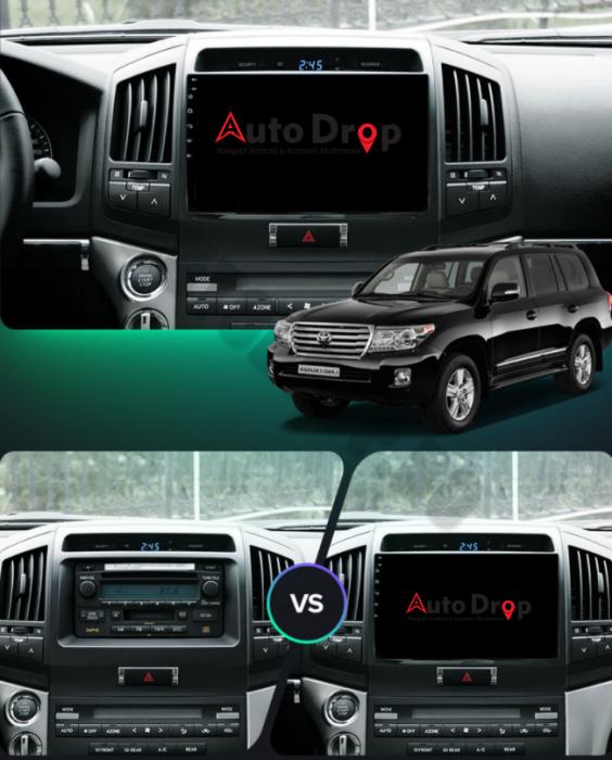 Navigatie Toyota Land Cruiser 200 2GB | AutoDrop.ro 19