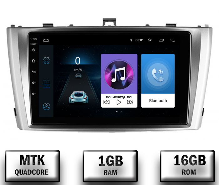 Navigatie Android Toyota Avensis 2008-2015   AutoDrop.ro [0]