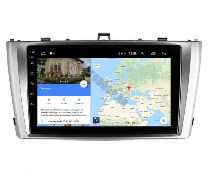 Navigatie Android Toyota Avensis 2008-2015   AutoDrop.ro [10]