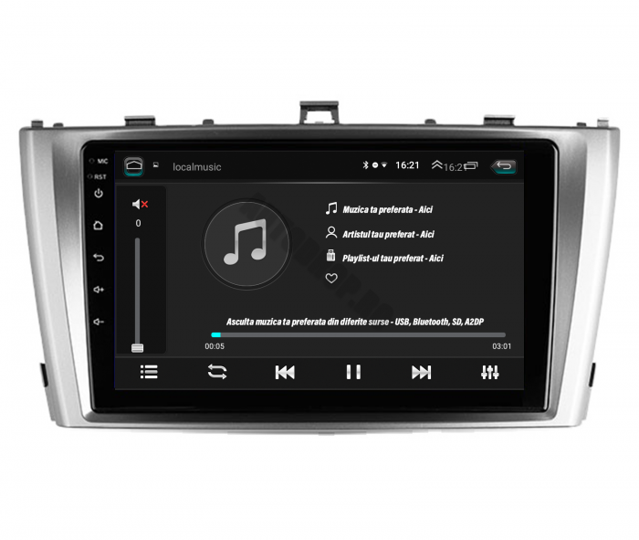 Navigatie Toyota Avensis 2008-2015 2+32GB   AutoDrop.ro [6]
