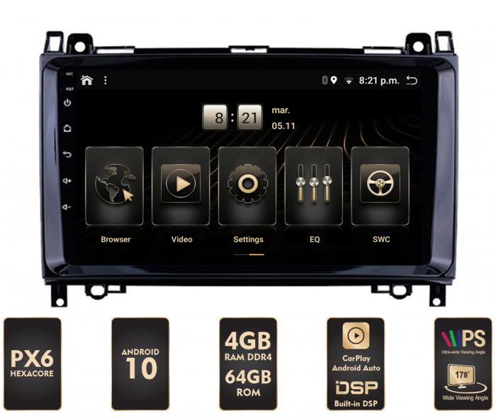 Navigatie Android Mercedes Benz PX6 | AutoDrop.ro [0]