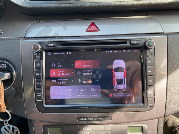 Navigatie Volkswagen cu Android 10 de 8 Inch - AD-BGWVW8P3 23