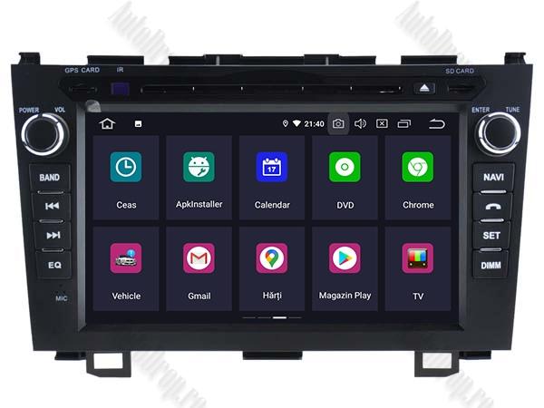 Navigatie Honda CRV 2006-2012 Android 4+64GB | AutoDrop.ro 1