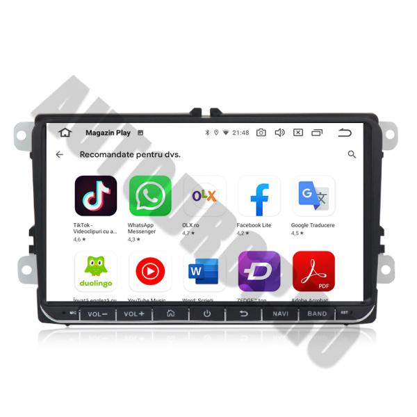 Navigatie Volkswagen cu Android 10 de 9 Inch - 4+128GB 7