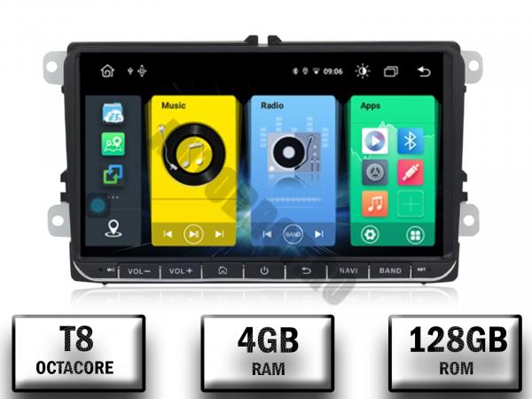 Navigatie Volkswagen cu Android 10 de 9 Inch - 4+128GB 0