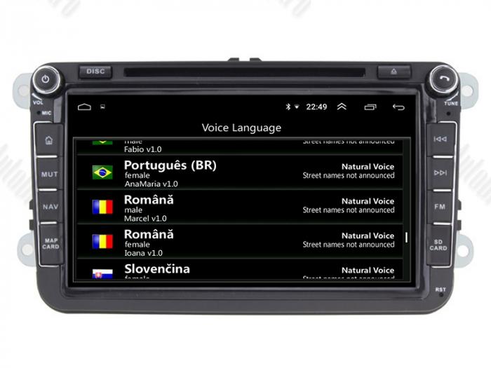 Navigatie Volkswagen cu Android 10 de 8 Inch - AD-BGWVW8P3 9