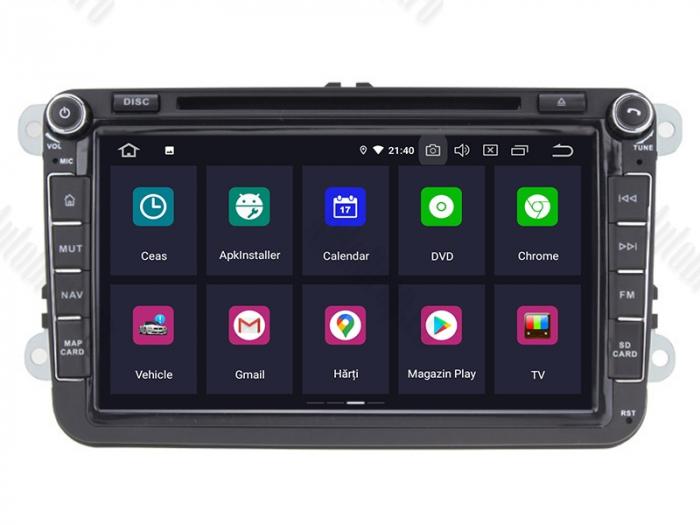Navigatie Volkswagen cu Android 10 de 8 Inch - AD-BGWVW8P3 2