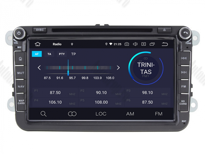 Navigatie Volkswagen cu Android 10 de 8 Inch - AD-BGWVW8P3 3