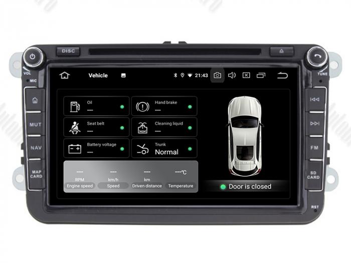 Navigatie Volkswagen cu Android 10 de 8 Inch - AD-BGWVW8P3 8
