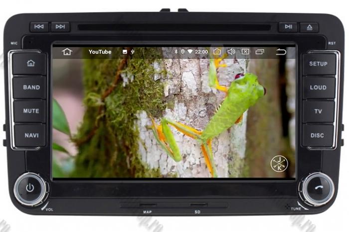 Navigatie Volkswagen 7 Inch cu Android 10 - AD-BGWVW7P3 15