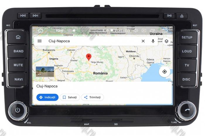 Navigatie Volkswagen 7 Inch cu Android 10 - AD-BGWVW7P3 12