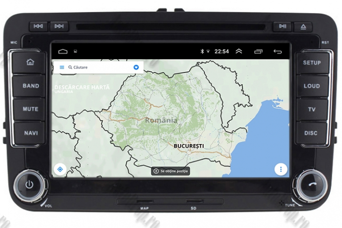 Navigatie Volkswagen 7 Inch cu Android 10 - AD-BGWVW7P3 9