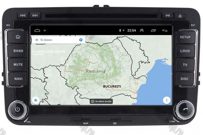 Navigatie tip OEM Skoda Octavia 2 + Rama | AutoDrop.ro [8]
