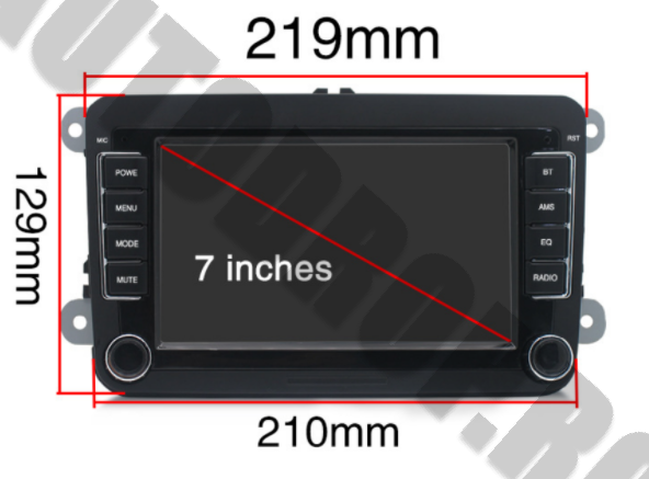 Navigatie Dedicata Volkswagen 7 Inch | AutoDrop.ro 17