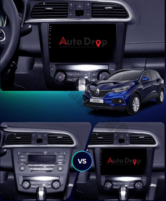 Navigatie Android Renault Kadjar 2GB | AutoDrop.ro [16]