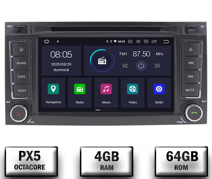 Navigatie VW Touareg Octacore 4+64GB | AD-BGWVWTRGP5 0