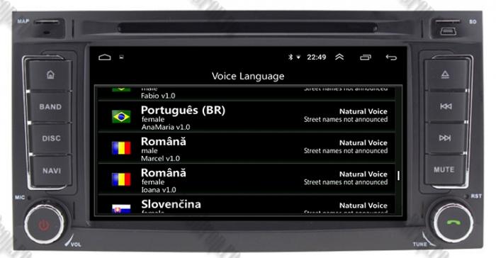 Navigatie VW Touareg T5/Multivan Android 9 - AD-BGWVWTRGP3 9