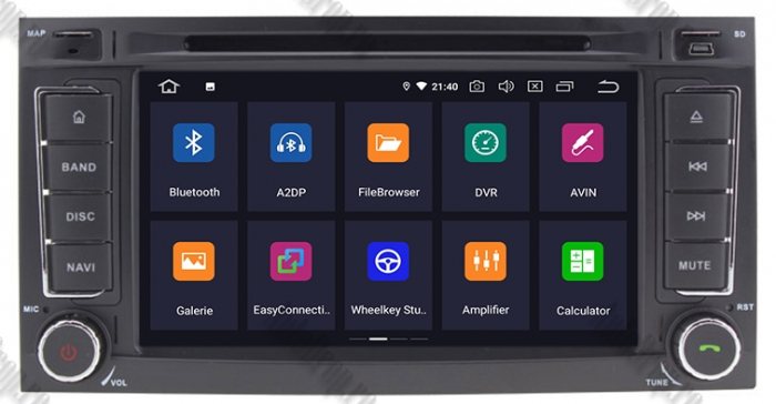 Navigatie VW Touareg T5/Multivan Android 9 - AD-BGWVWTRGP3 1