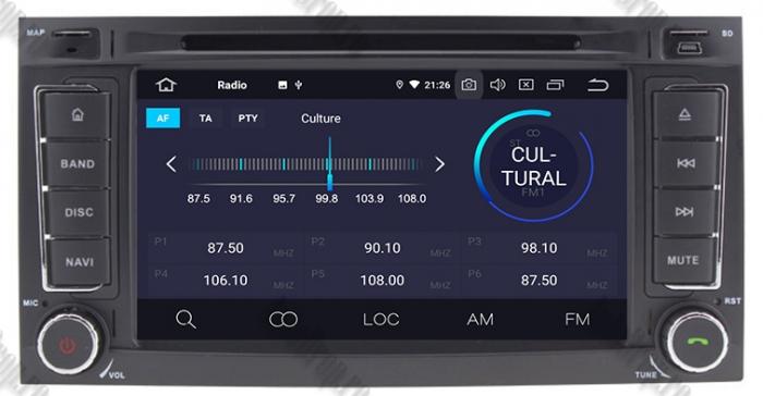 Navigatie VW Touareg T5/Multivan Android 9 - AD-BGWVWTRGP3 4