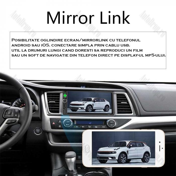 MP5 DVD Player Auto   Bluetooth, USB, Camera Marsarier [4]