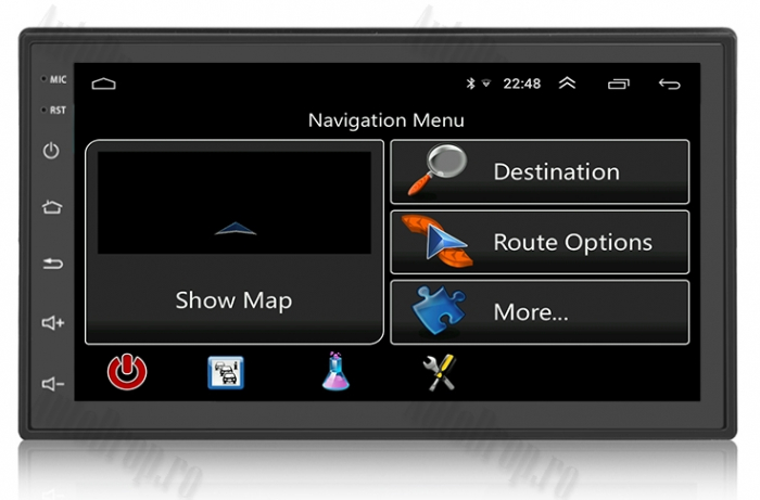 Navigatie Auto GPS All-in-One 2DIN, Android 8.1 - AD-BGP1002 5