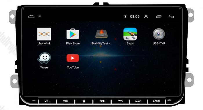 Navigatie VW, Seat, Skoda, Android 9, AD-BGPVW9MTK2GB [7]