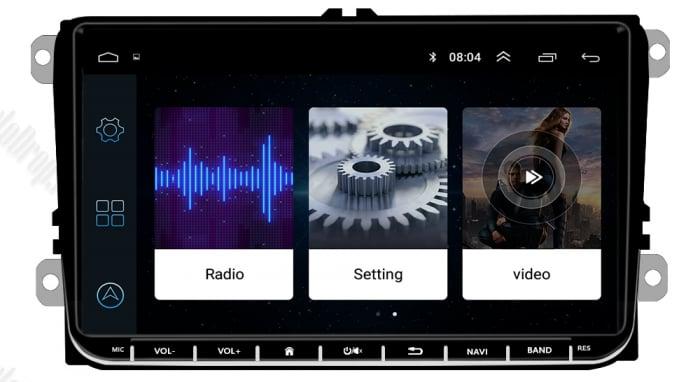 Navigatie VW, Seat, Skoda, Android 9, AD-BGPVW9MTK2GB [5]