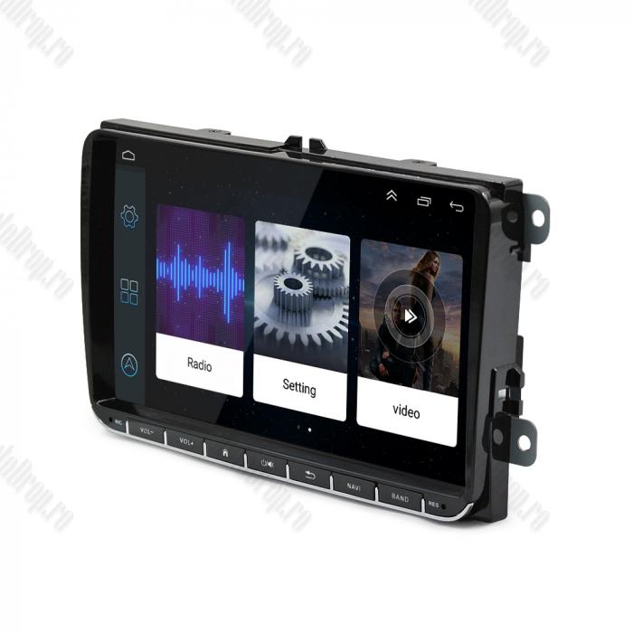 Navigatie 2+32GB Skoda Octavia 2 FL + Rama | AutoDrop.ro 12