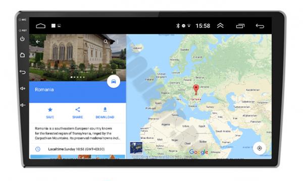 Navigatie Ford, Android, 9Inch | AD-BGPFORDF91GB 4