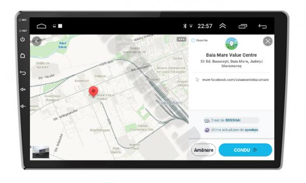 Navigatie Ford, Android, 9Inch | AD-BGPFORDF91GB 6