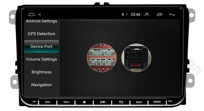 Navigatie Volkswagen, Skoda, Seat, Android | AD-BGPVW9MTK 5
