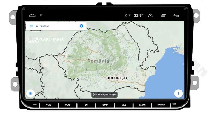 Navigatie Volkswagen, Skoda, Seat, Android | AD-BGPVW9MTK 11