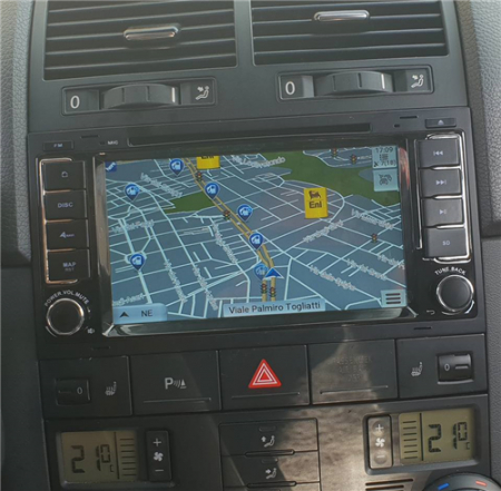 Navigatie Volkswagen Touareg cu Android 9 - Client Alba Iulia1