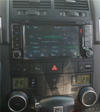 Navigatie Volkswagen Touareg cu Android 9 - Client Alba Iulia3
