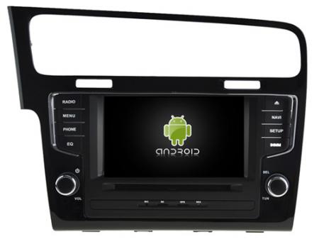 Navigatie Volkswagen Golf 7, Android 9, Quadcore / 2GB RAM, 7 inch - AD-BGX040