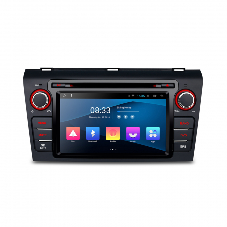 """-Out of Stock- NAVIGATIE MAZDA 3 (2004-2009), ANDROID 8.1, QUADCORE / 1GB RAM CU DVD, 7""""0"""