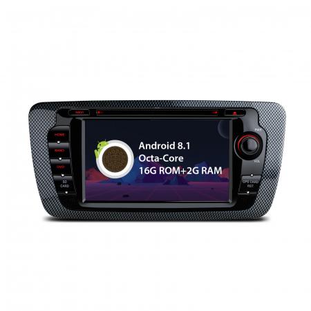 "-OUT OF STOCK- Navigatie Android 8.1 OREO Ibiza MK4, FR, Ecomotive, Cupra Concept, Bacanegra, Cupra OCTACORE / 2GB RAM cu DVD, 7"" Inch0"