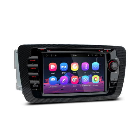 "-OUT OF STOCK- Navigatie Android 8.1 OREO Ibiza MK4, FR, Ecomotive, Cupra Concept, Bacanegra, Cupra OCTACORE / 2GB RAM cu DVD, 7"" Inch3"