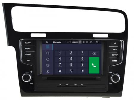 Navigatie Volkswagen Golf 7, Android 9, Quadcore / 2GB RAM, 7 inch - AD-BGX043