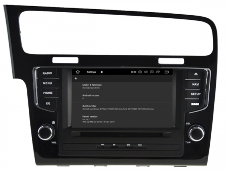 Navigatie Volkswagen Golf 7, Android 9, Quadcore / 2GB RAM, 7 inch - AD-BGX044