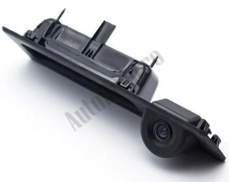 Camera Auto Video Marsarier Dedicata BMW F30, F31, F10, F25, E84 pe manerul de portbagaj - AD-BGCMBMW10