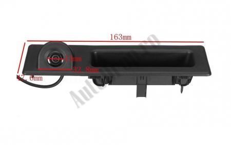Camera Auto Video Marsarier Dedicata BMW F30, F31, F10, F25, E84 pe manerul de portbagaj - AD-BGCMBMW11