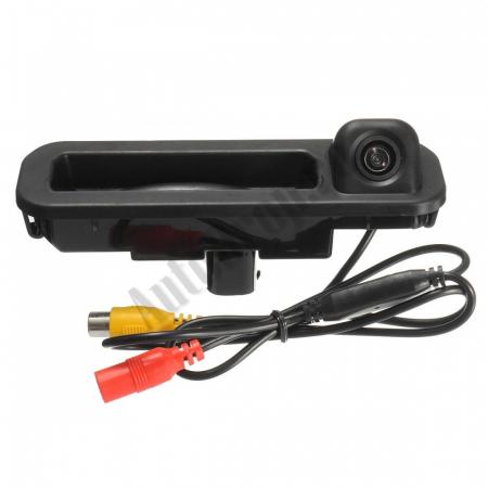 Camera Auto Video Marsarier Dedicata FORD FOCUS 3 Hatchback/Break pe manerul de la hayon - AD-BGCMFORD35