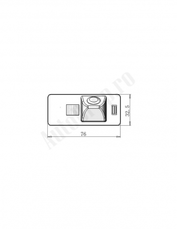 Camera Auto Video Marsarier Dedicata Audi A1, A4, A5, A6, A7, Q5 (2008+) - AD-BGCMAUDI11