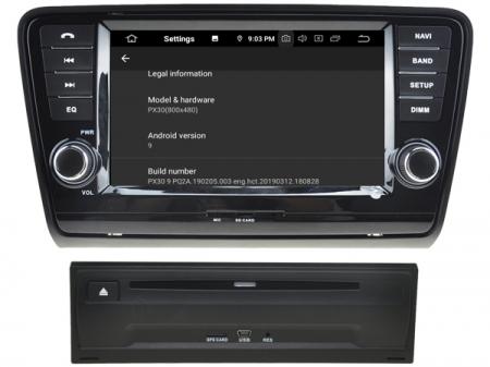 "Navigație Skoda Octavia 2013, Android 9, QUAD CORE / 2GB RAM cu DVD, 8"" Inch4"