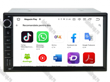 Navigatie All-in-One, Android 10, Quadcore|PX30| / 2GB RAM + 16GB ROM, 7 Inch - AD-BGW2GB16ROM7P311