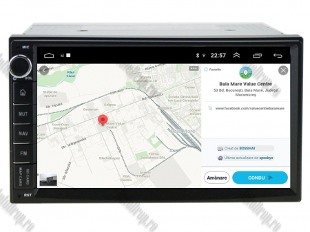 Navigatie All-in-One, Android 10, Quadcore|PX30| / 2GB RAM + 16GB ROM, 7 Inch - AD-BGW2GB16ROM7P313